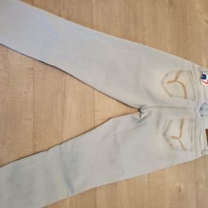 jcpenney Jeans - Distressed jeans ankle length Size 7